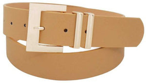 Modern Square Buckle Belt
