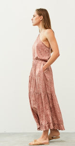 Athena One Shoulder Dress