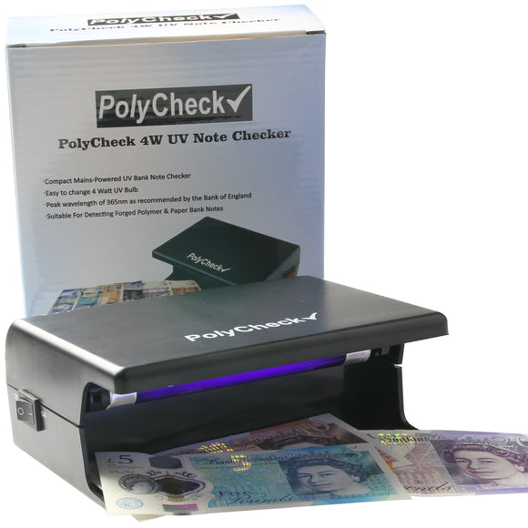 POLYCHECK UV NOTE CHECKERS