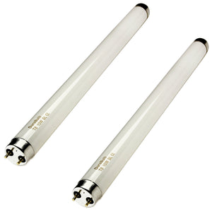 DuraBulb 2 x 10W T8 BL368 UV Fly Killer Bulbs - 13 Inch Tubes for 20W Insect Traps/Bug Zappers