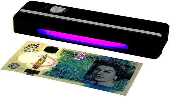 Portable UV Money Checker - Detects Forged Polymer & Paper Bank Notes