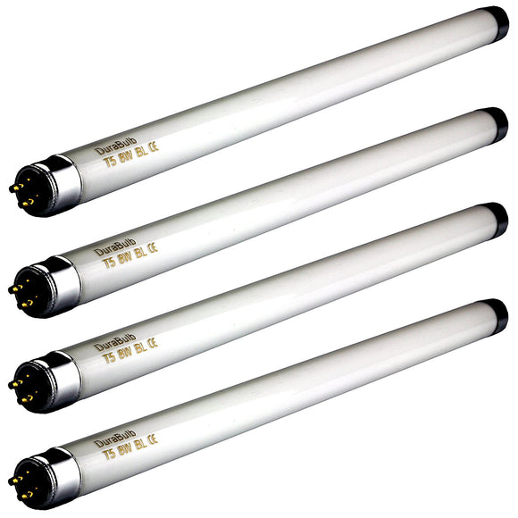 4 x DuraBulb 8 Watt T5 UV Bulbs for 8W / 16W Insect Zappers/Fly Killers - 12 Inch Tubes