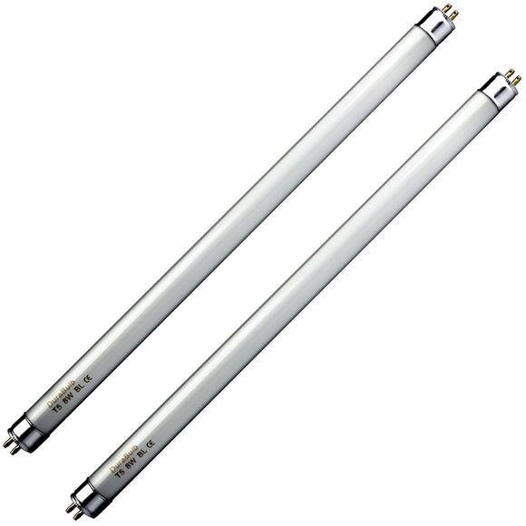DuraBulb 2 x 8W Fly Killer Bulbs - Replacement Bulbs for 8W /16W Insect Zappers/Fly Killers - 12 Inch T5 UV Tubes