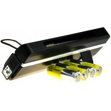 Portable UV Money Checker with Batteries - Detects Forged Polymer & Paper Bank Notes
