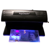 PolyCheck 2-in-1 UV Counterfeit Money Detector with Spare DuraBulb Bulb