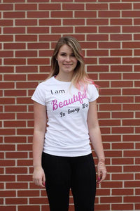 'I am Beautiful In Every Way' T-Shirt