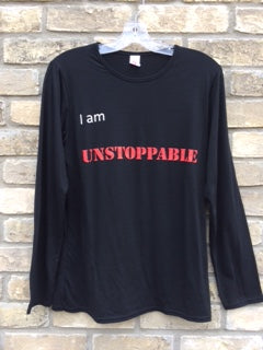 'I am Unstoppable' Long Sleeve Shirt