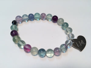 'I am Who I Am' Gemstone Bracelet - Tanzanite