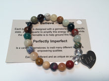 'I am Perfectly Imperfect' Gemstone Bracelet