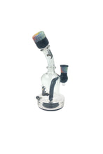 Killa Glass 8'' Illuminati Custom Joint Mouthpiece Banger Hanger