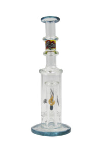 Killa Glass 10'' Reverse Top Honeycomb Perc Water Pipe