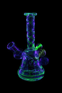 Killa Glass 6.5'' 3 Marble Illuminate Banger Hanger