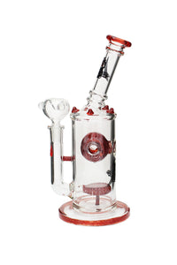 Killa Glass 11'' Showerhead to Swiss ball Perc Water Pipe