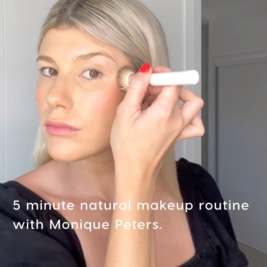 5 minute natural makeup routine