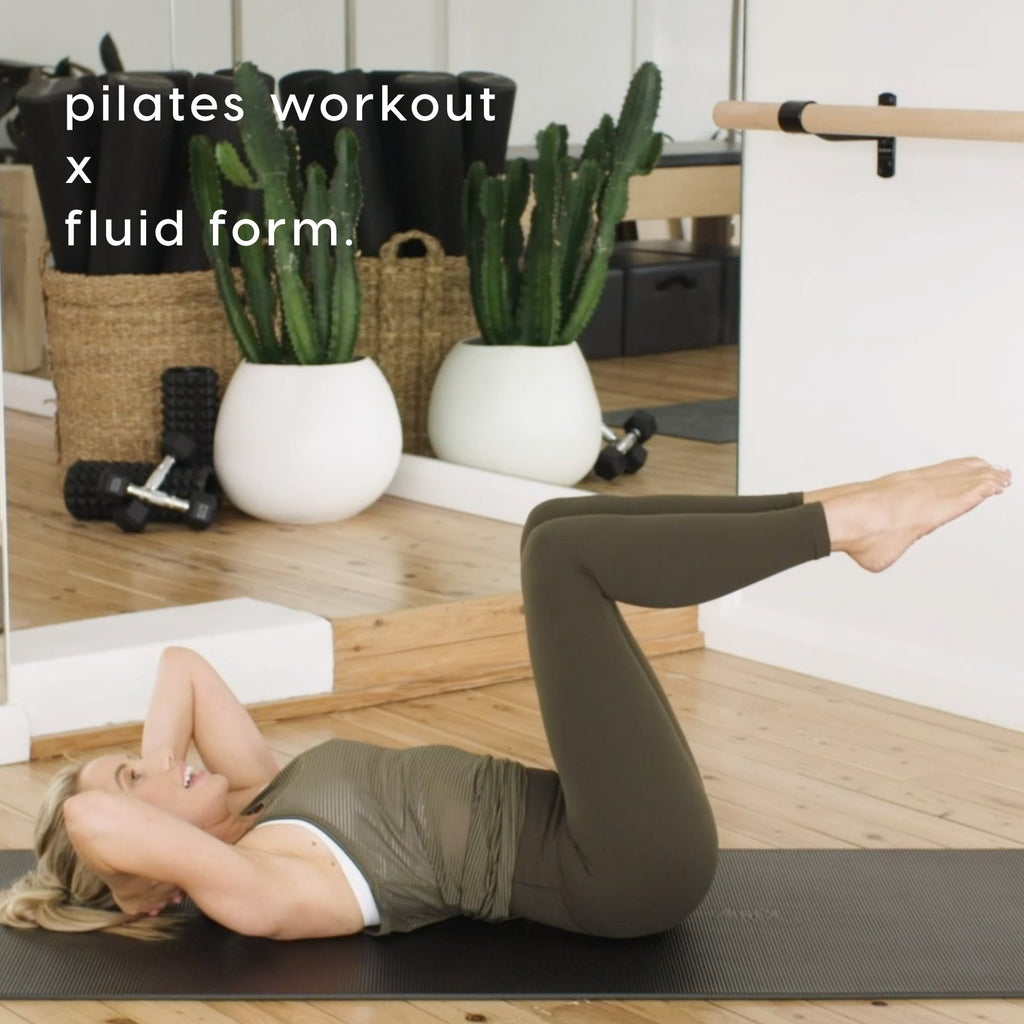 Fluid Form Pilates Workout - Kirsten King