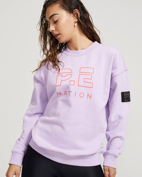 Heads Up Sweat in Lilac