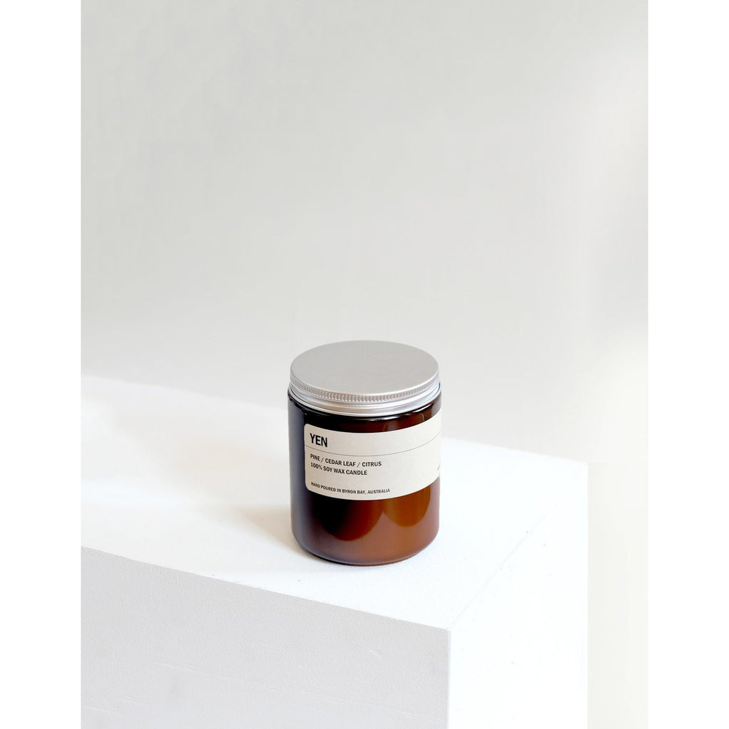 250g Amber Soy Candle - YEN - Prae Store