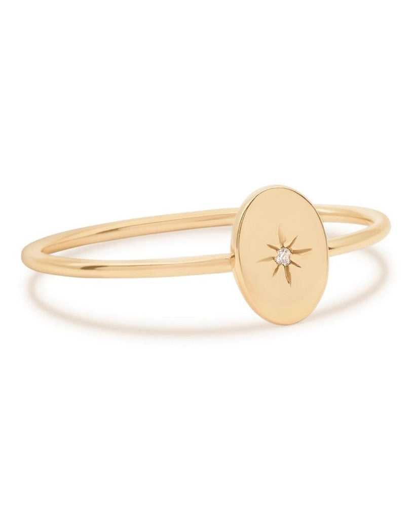 14k Gold Shine Your Light Ring - Prae Store