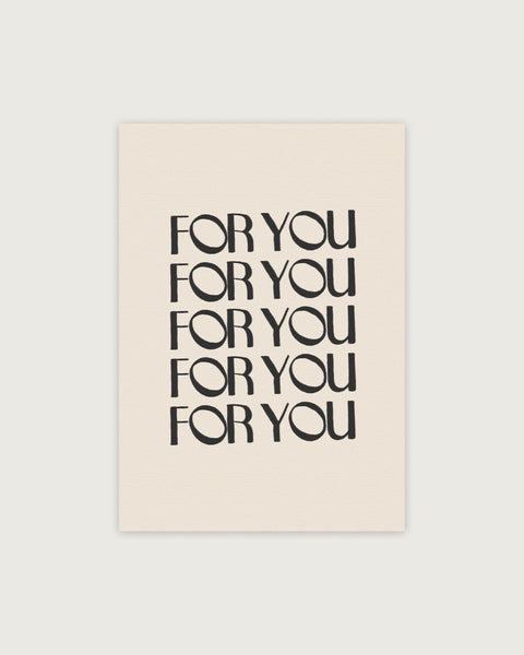 All For You Card - Prae Store