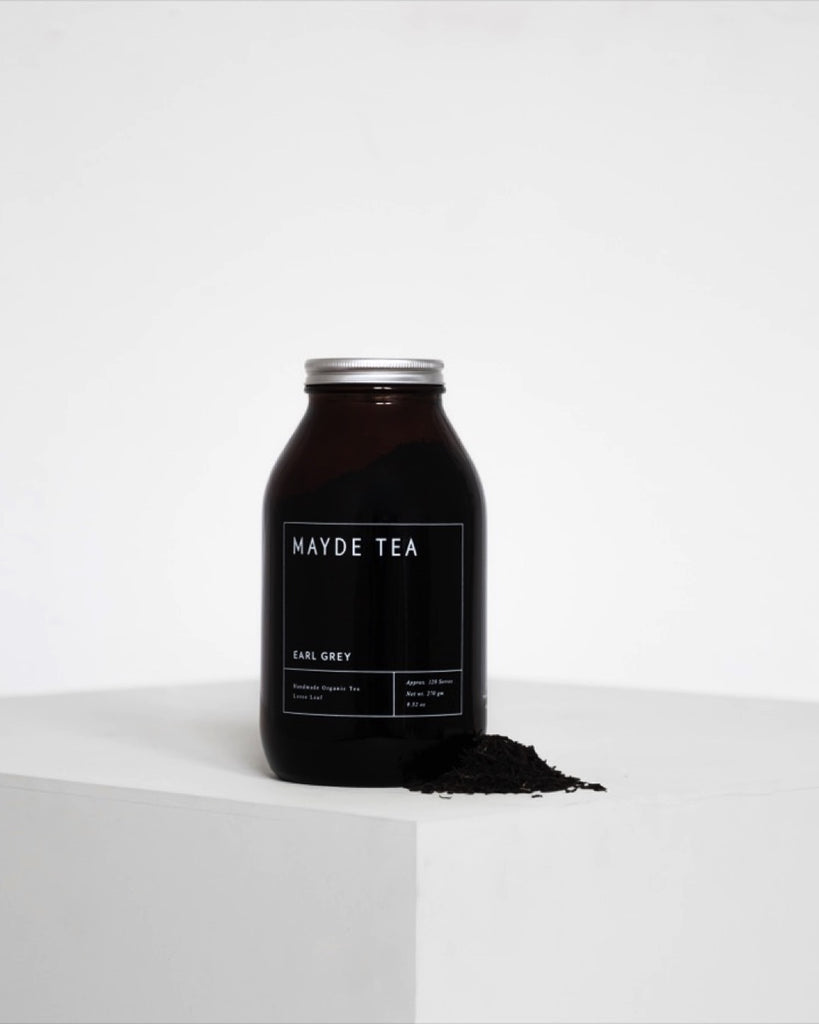 Earl Grey Tea - Amber Jar - Prae Store