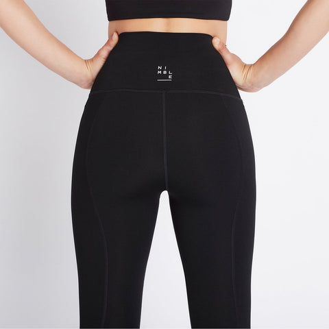 All Day High Rise Tight - Black - Prae Store