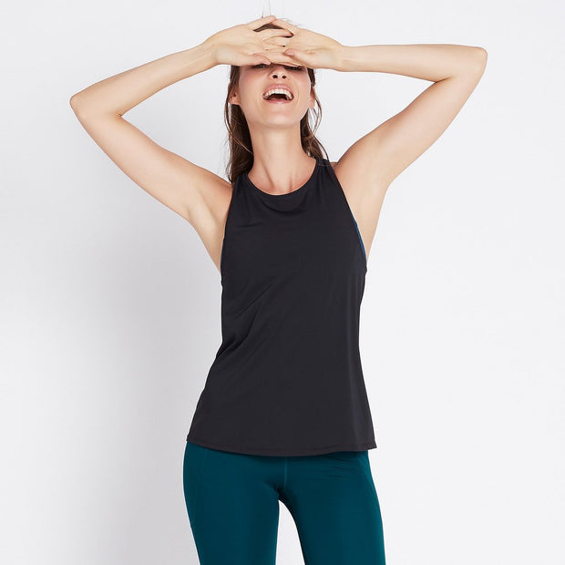Train for It Tank - Black