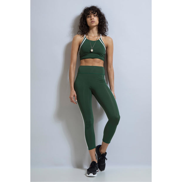 Baller ⅞ Compression Legging - Emerald