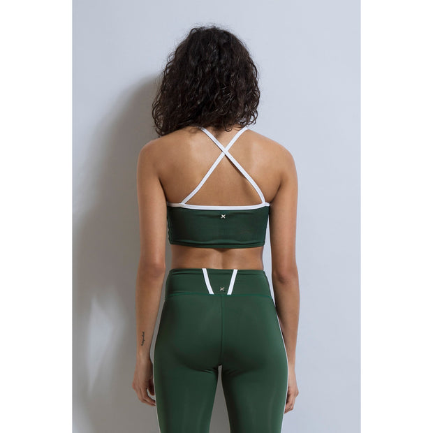 Baller Crop Top - Emerald