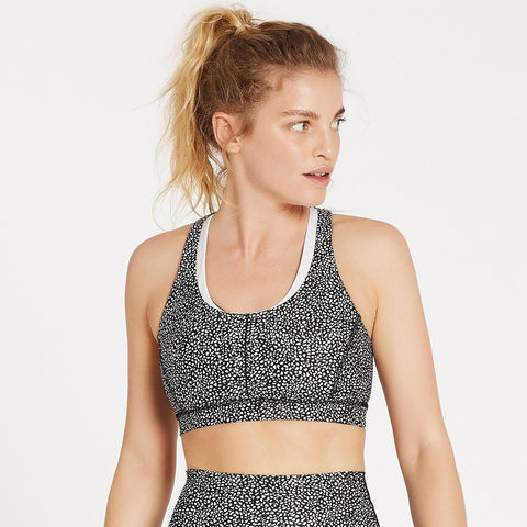 On Track Bra - White Pebble - Prae Store