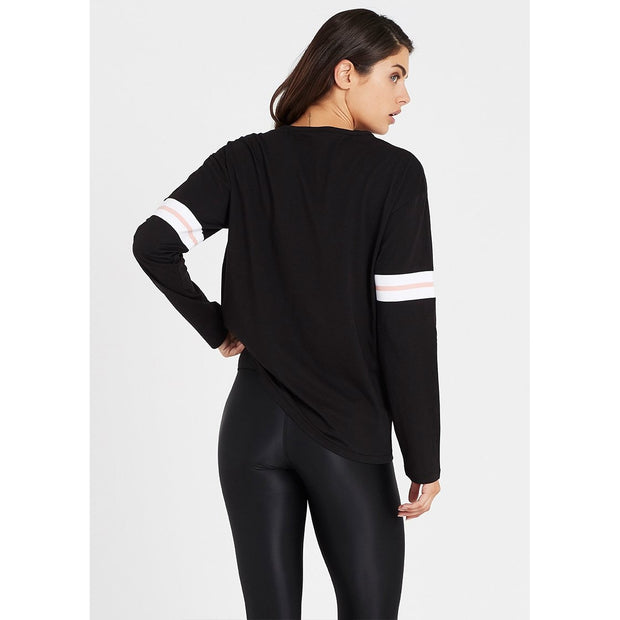 Lineal Long Sleeve Top