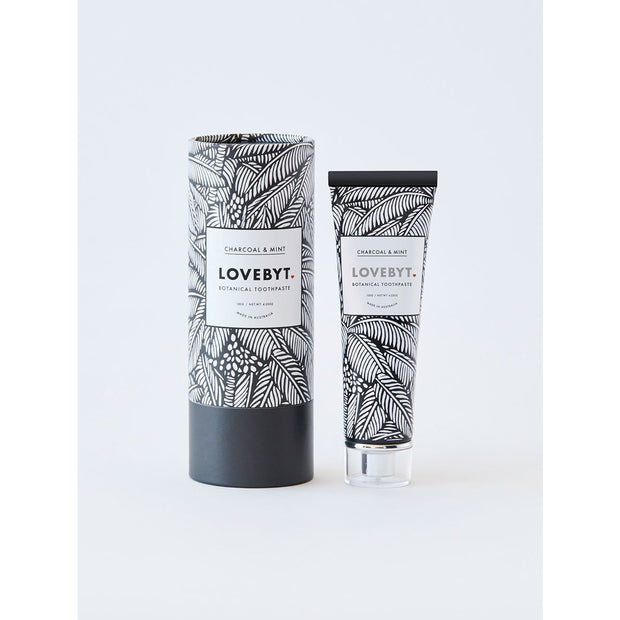 Charcoal & Mint - Smooth & Fresh Natural Toothpaste