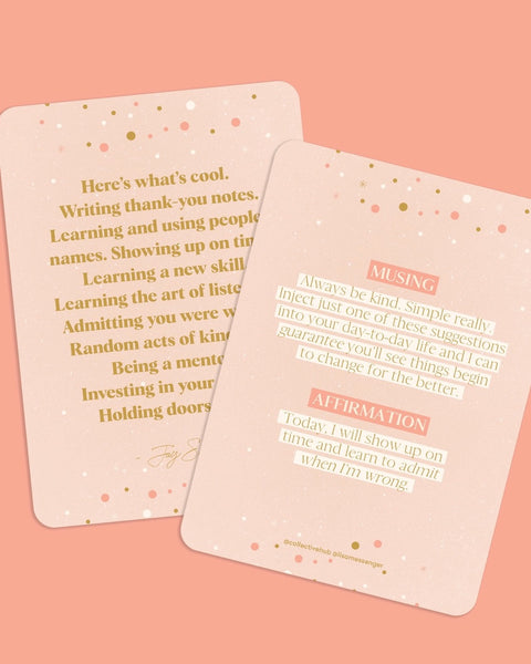 Affirmations To Guide Your Journey - Box Card Set - Prae Store