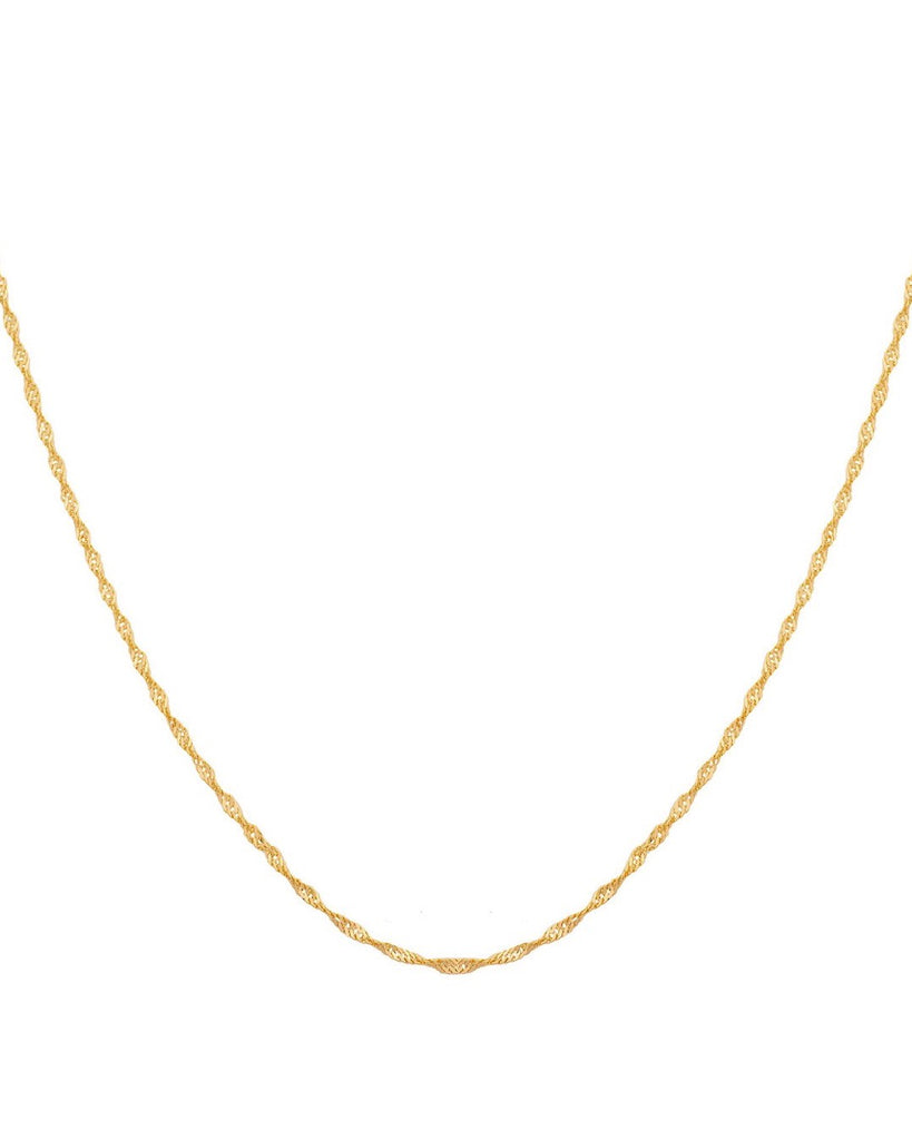Twist Chain Necklace - Prae Store