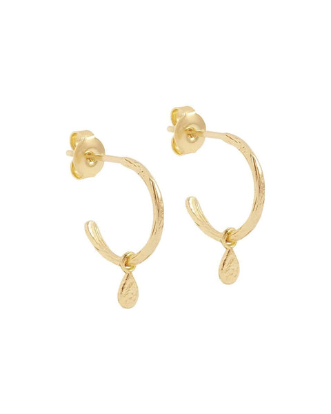 Gold  Grace Hoops - Prae Store