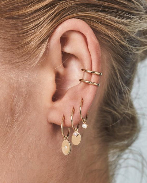 14k Gold Twilight Ear Cuff - Prae Store