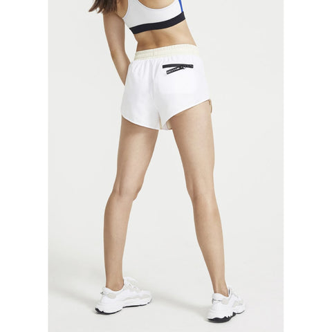 Double Drive Short - White