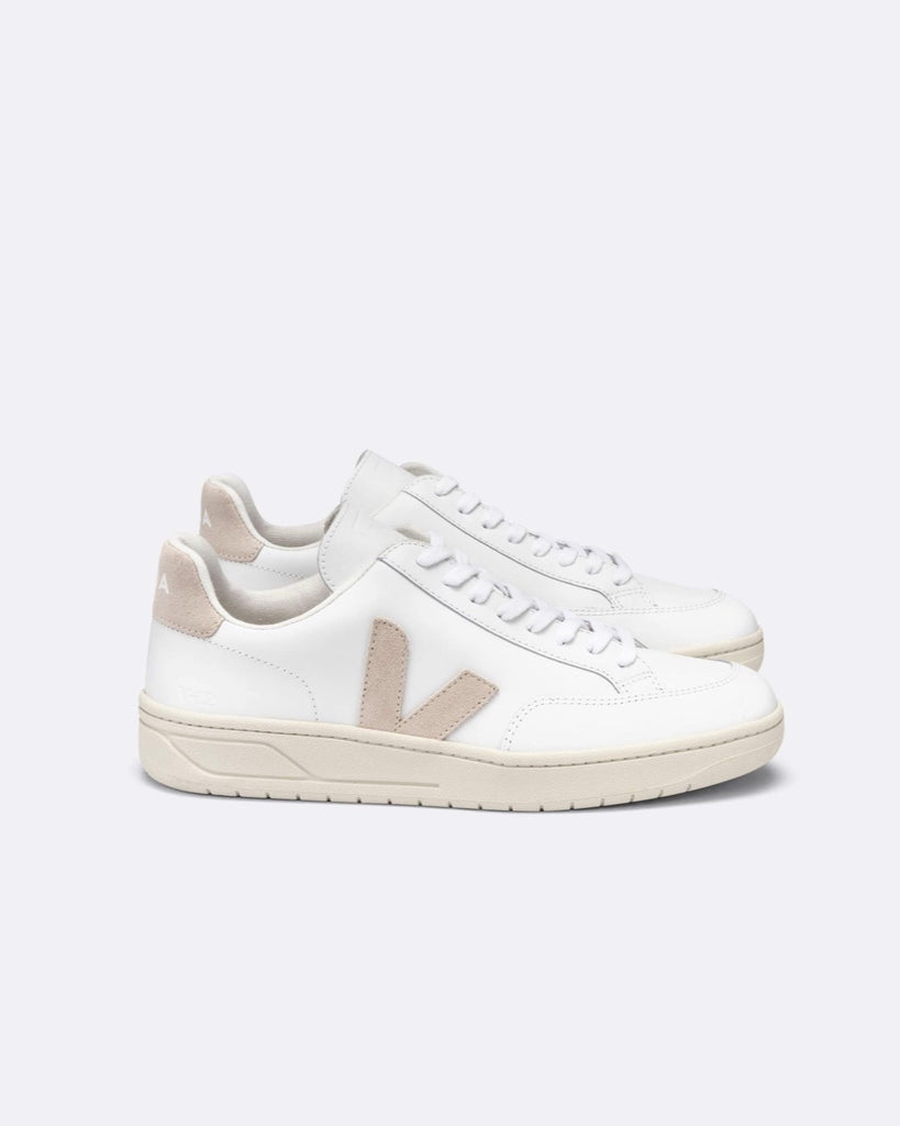 Veja - V-12 Leather Extra-White Sable