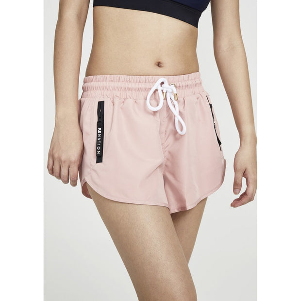 Double Drive Short in Rose
