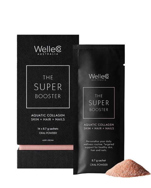 The Super Booster Aquatic Collagen Skin + Hair + Nails - Prae Store