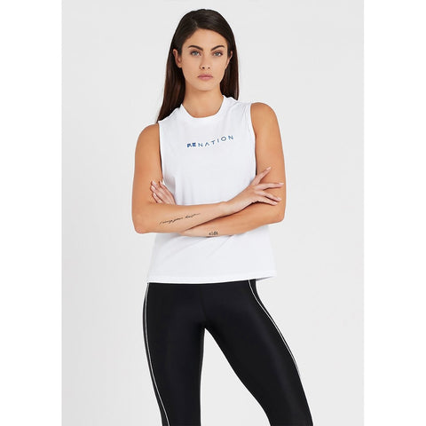 Lead Force Tank - White