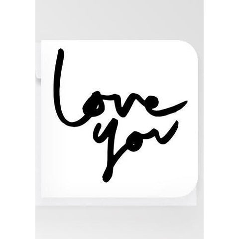Love You - Mini Card - Prae Store