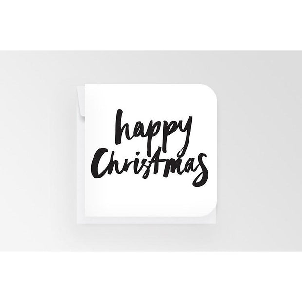 Happy Christmas - Mini Card