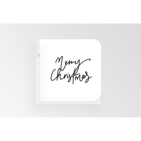 Merry Christmas - Mini Card