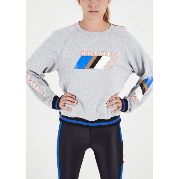 Elite Run Sweat - Grey