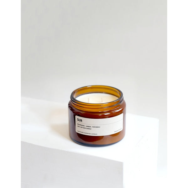500g Amber Soy Candle - SUR - Prae Store