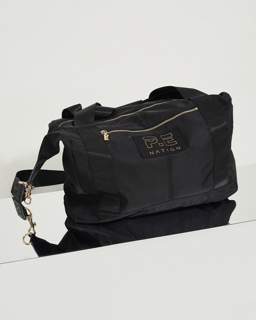 Set Shot Gym Bag in Black - Prae Store