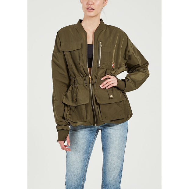 Streamline Jacket - Khaki
