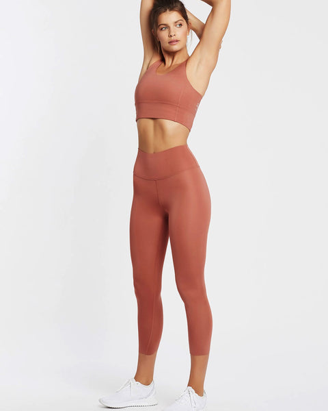 All Day High Rise Legging II - Canyon Rose - Prae Store
