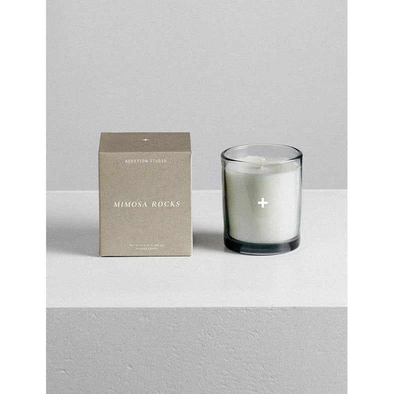 Natural Scented Candle - Mimosa Rocks
