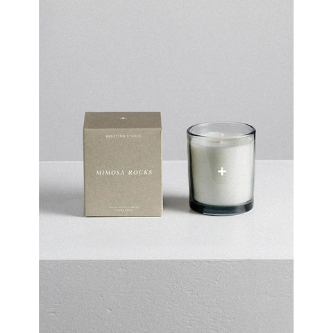 Natural Scented Candle - Mimosa Rocks - Prae Store